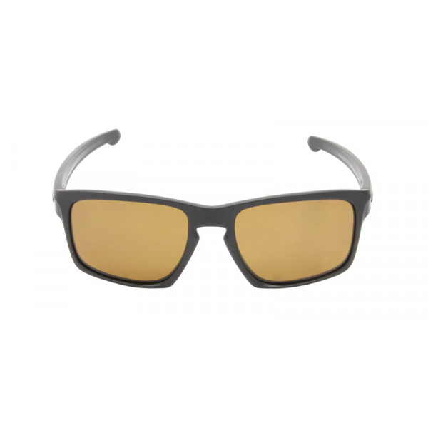 c8db8061d1bd Replica Oakley Men's Sliver Black / Brown 57mm Polarized Sunglasses